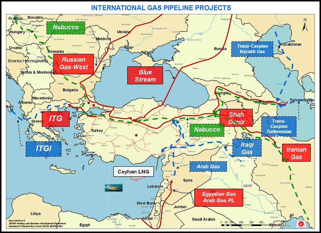 How Turkey and Qatar are finishing off the Ukrainian GTS