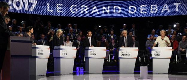 Один проти Путіна, двоє проти ЄС: підсумки президентських дебатів у Франції